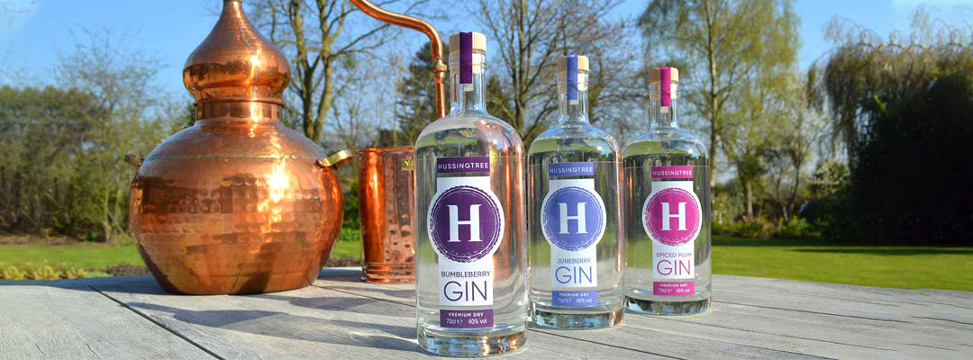 Hussingtree Gin launch their new Blended Range – Gins for other mixers